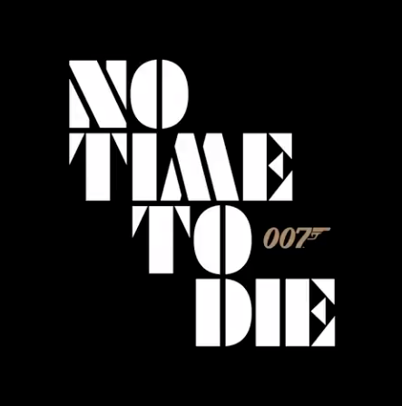 'No Time To Die' title treatment (007/Twitter)