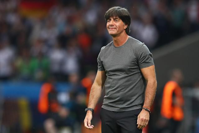 German national team manager Joachim Low could be near the top of Arsenal's list to replace Arsene Wenger, but would he take the job? And would he be an ideal fit? (Getty)