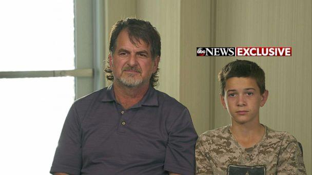 PHOTO: David Langford and Devin Langford speak with ABC News. (ABC News)