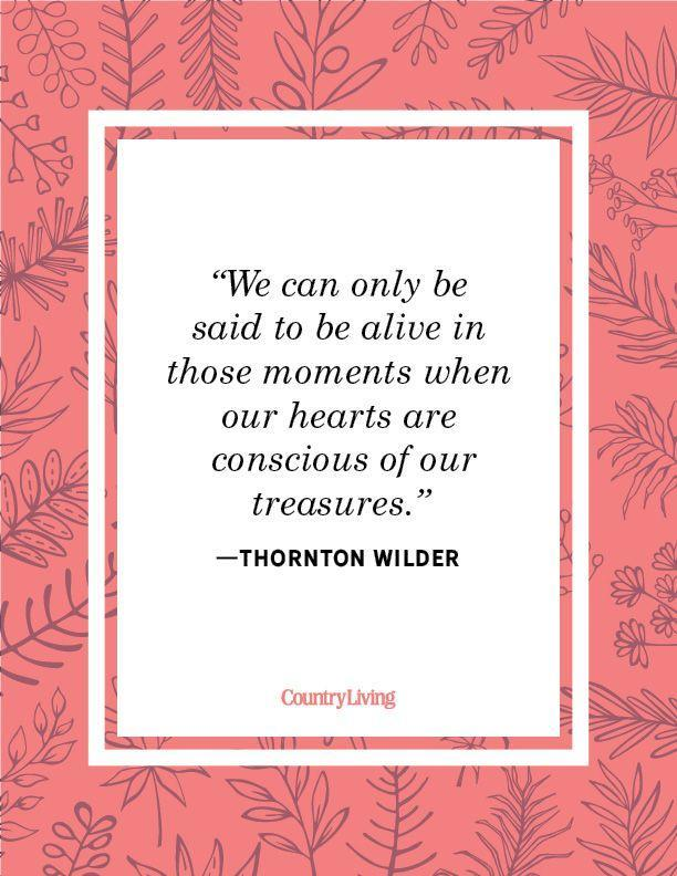 """<p>""""We can only be said to be alive in those moments when our hearts are conscious of our treasures.""""</p>"""
