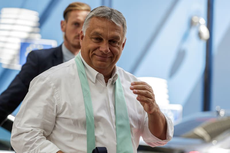 Hungarian opposition unites to challenge PM Orban in 2022