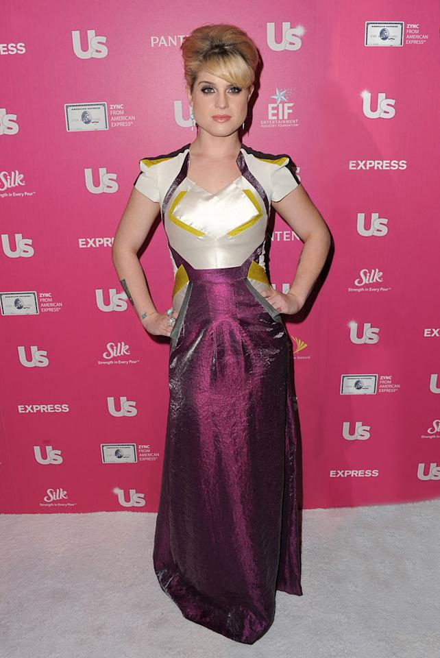 """But the event was about more than just red carpet style. Sporting a gown fit for a medieval princess, Kelly Osbourne and her mum Sharon were honored at the event for standing up for gay, lesbian, bisexual, and transgender youth. Kelly later tweeted, """"Thank you so much @usweekly for honouring my mother and I tonight we had a lovely time!"""" Jordan Strauss/<a href=""""http://www.wireimage.com"""" target=""""new"""">WireImage.com</a> - November 18, 2010"""