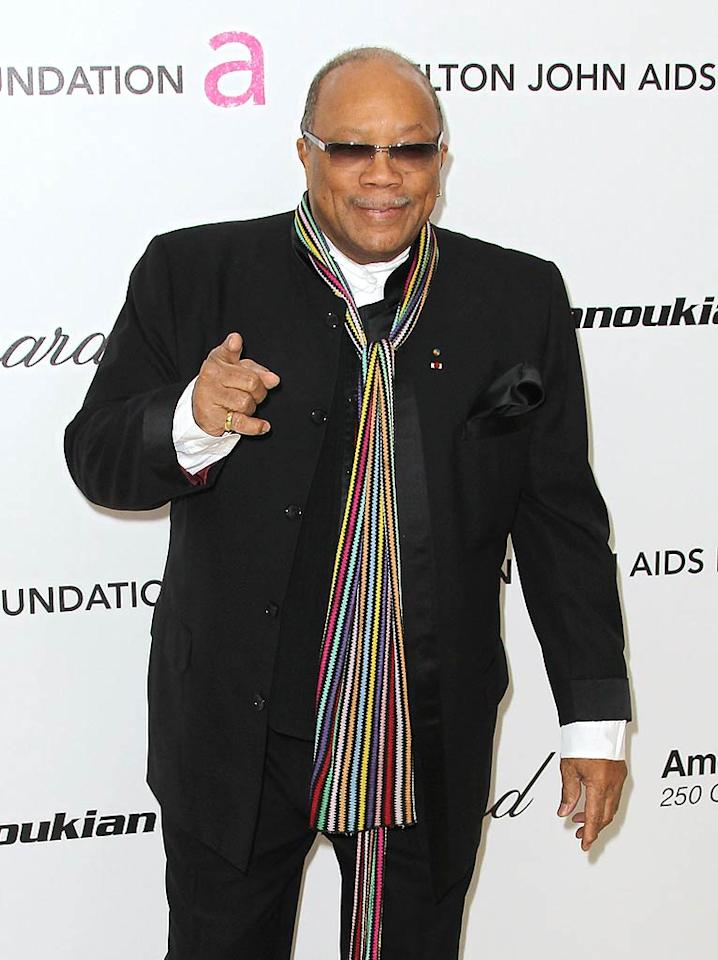 """March 14: Quincy Jones turns 78 Frederick M. Brown/<a href=""""http://www.gettyimages.com/"""" target=""""new"""">GettyImages.com</a> - February 27, 2011"""