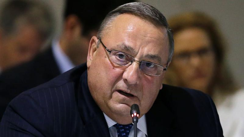 Maine governor meets lawmaker to apologize for obscene rant