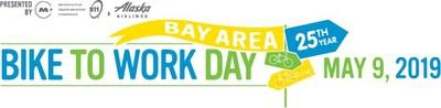 Bay Area Bike to Work Day is being held on May 9, 2019, additional information is available at www.bayareabiketowork.com (PRNewsfoto/Bayareabiketowork.com)
