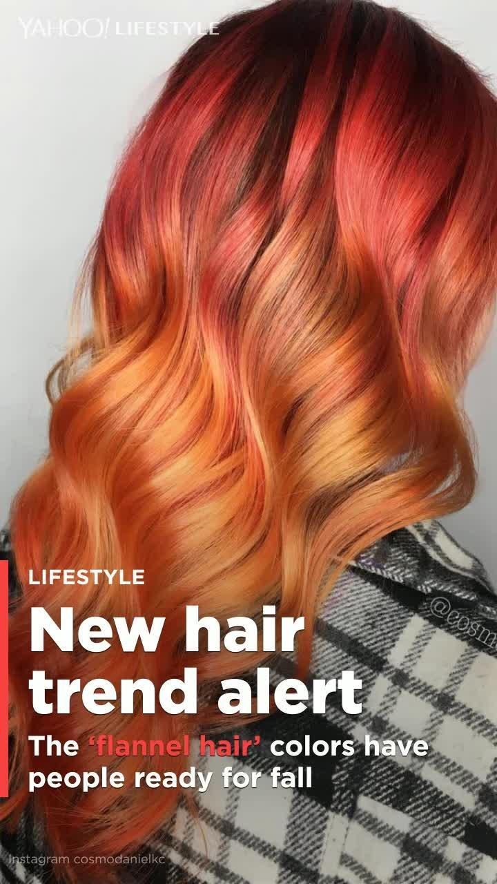 This Flannel Hair Color Trend Will Have You Wishing For Fall Video