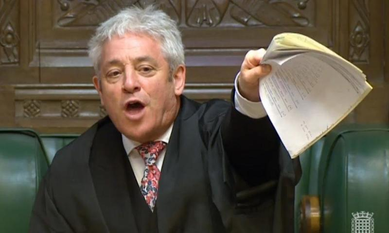 John Bercow Told To Quit As Speaker After Confrontation In The Commons