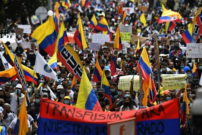 Most of the mass demonstrations against the Colombian government of President Ivan Duque have been peaceful