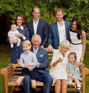 """<p>Remember when the royal family could take a pic together without people being like 🗣️ <a href=""""https://www.cosmopolitan.com/entertainment/celebs/a29802099/prince-william-prince-harry-royal-feud-rift-timeline/"""" rel=""""nofollow noopener"""" target=""""_blank"""" data-ylk=""""slk:ROYAL FEUD"""" class=""""link rapid-noclick-resp"""">ROYAL FEUD</a>? Me neither. </p>"""