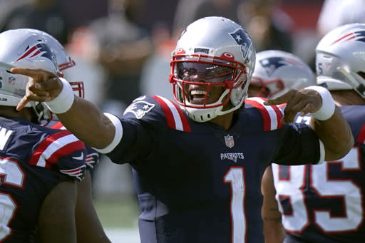 Pats embracing 'new normal' of Newton carrying rushing load
