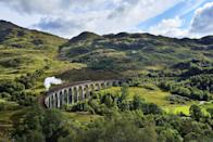 """<p>One of the most beautiful UK holiday destinations you'll ever see, the Scottish Highlands are so breathtaking that they've attracted the film industry, with James Bond and Harry Potter movies shot here.</p><p>A top experience you can't miss during a trip here is a ride on the incredible Jacobite train, which takes you over the beautiful Glenfinnan Viaduct.</p><p>You can check out the Falkirk Wheel, cruise Loch Katrine, ride the Jacobite and explore more of the Highlands from £995.</p><p><strong>When:</strong> June and July 2022</p><p><a class=""""link rapid-noclick-resp"""" href=""""https://www.primaholidays.co.uk/tours/scotland-highlands-steam-train-jacobite"""" rel=""""nofollow noopener"""" target=""""_blank"""" data-ylk=""""slk:FIND OUT MORE"""">FIND OUT MORE</a></p>"""