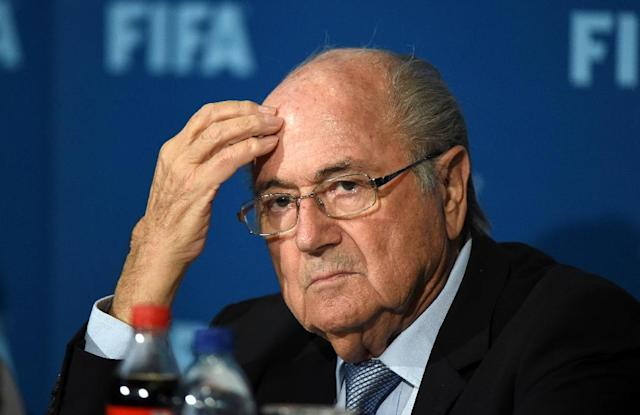 "Sepp Blatter has told AFP he won't be appealing in a Swiss court despite the ""incomprehensible"" verdict (AFP Photo/Fadel Senna)"