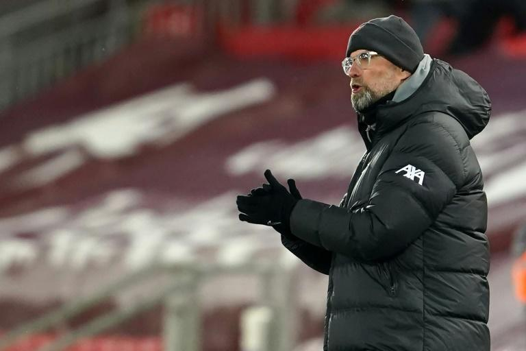 Liverpool manager Jurgen Klopp faces a battle to qualify for the top four