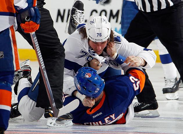 Stop Hockey Fights Off The Opening Draw You Re Embarrassing Me