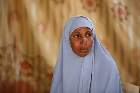 Somali refugee Fatuma Yussuf Diriye is seen during an interview with Reuters in the Kakuma refugee camp in northern Kenya, August 13, 2018. REUTERS/Baz Ratner