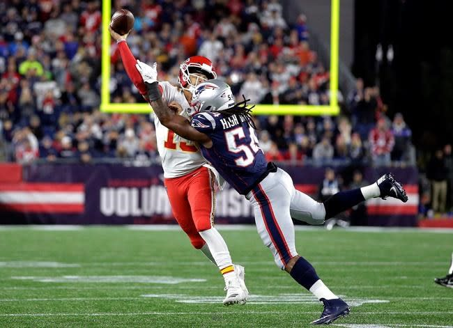 Patriots expecting unexpected in latest matchup with Mahomes