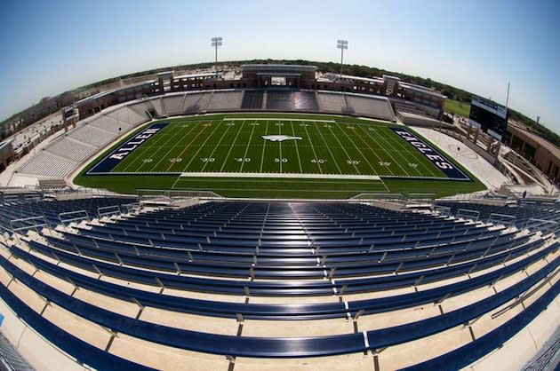 Allen's new Eagle Stadium is aiming to raise $500,000 per year or more in sponsorship revenue — AP