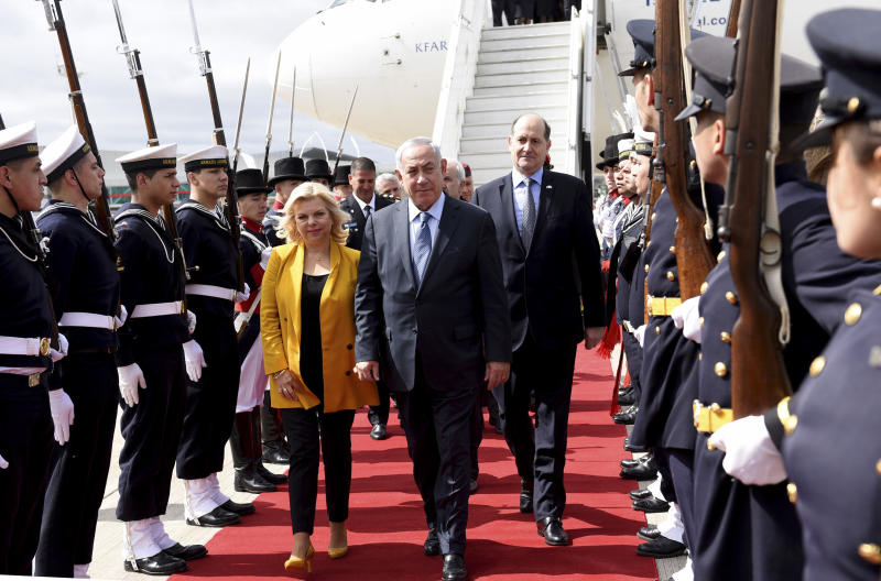 Image result for Netanyahu visits Argentina to boost ties