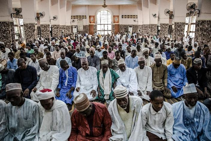 Masallacin Shehu mosque in Sokoto, once the hub of a caliphate that stretched from modern-day Burkina Faso to Cameroon (AFP Photo/Luis TATO)