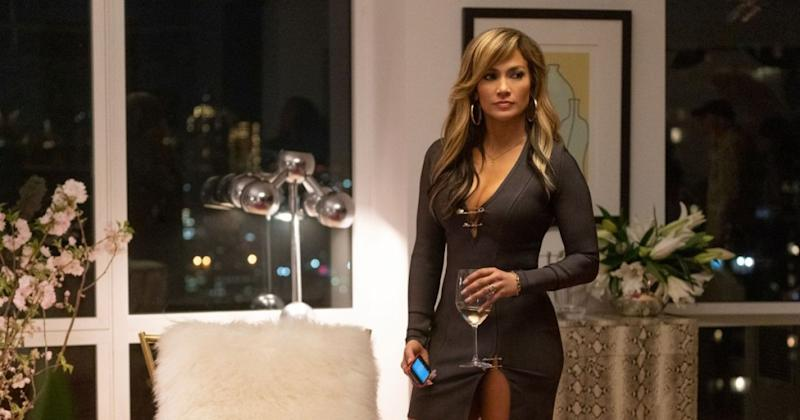 Jennifer Lopez in Hustlers (Credit: STX Films)