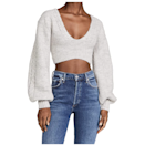 """This cropped knit looks convincingly warm, thanks to the giant knit sleeves keeping goosebumps in check. $154, Amazon. <a href=""""https://www.amazon.com/Love-Lemons-Womens-Amelia-Sweater/dp/B094Q5HBS3"""" rel=""""nofollow noopener"""" target=""""_blank"""" data-ylk=""""slk:Get it now!"""" class=""""link rapid-noclick-resp"""">Get it now!</a>"""