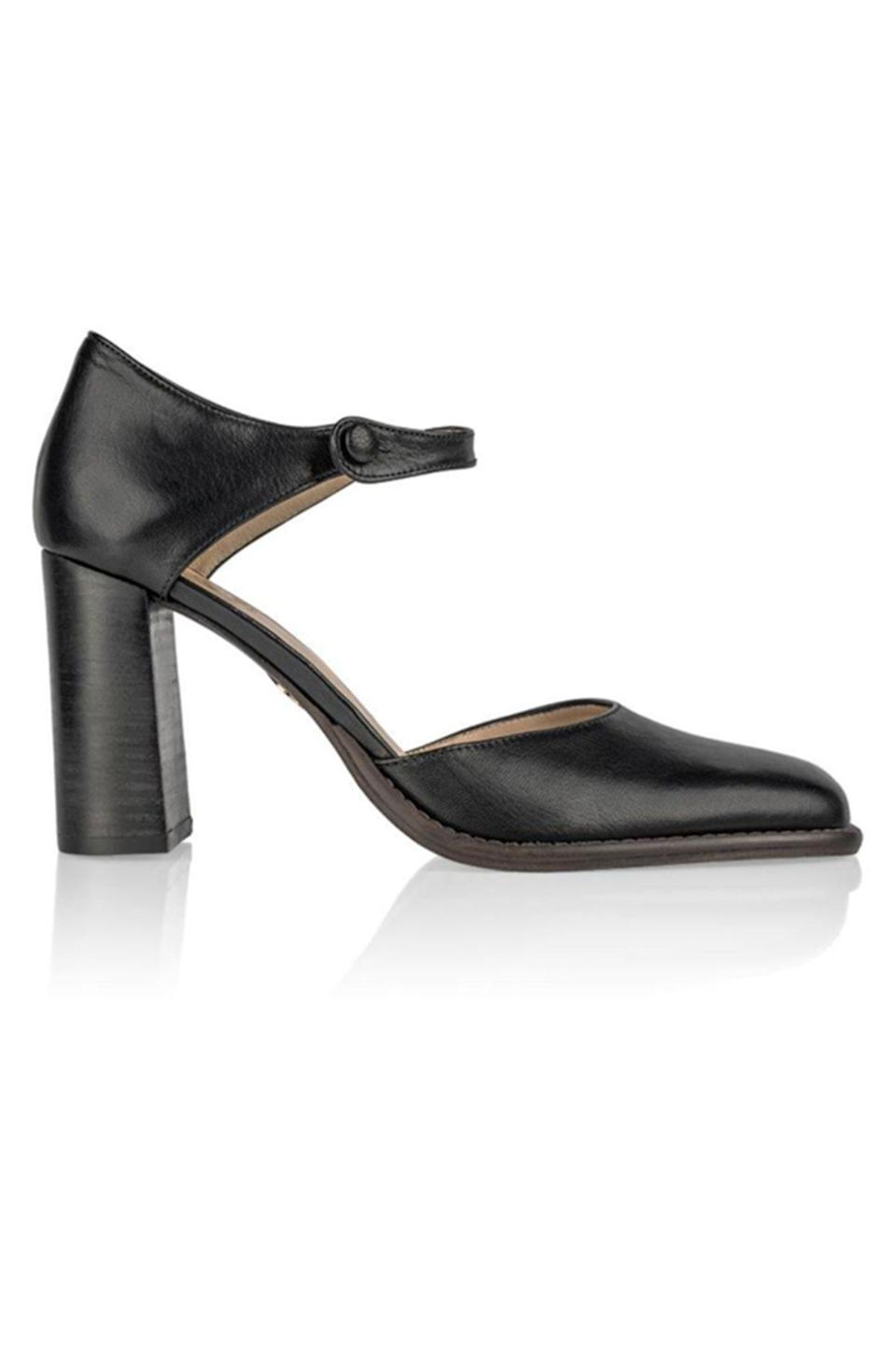 """<p><strong>Brother Vellies</strong></p><p>brothervellies.com</p><p><strong>$595.00</strong></p><p><a href=""""https://brothervellies.com/collections/all/products/lauryn-mary-jane-in-midnight"""" rel=""""nofollow noopener"""" target=""""_blank"""" data-ylk=""""slk:Shop Now"""" class=""""link rapid-noclick-resp"""">Shop Now</a></p><p>Brother Vellies shoes are handmade by artisans around the globe—and guaranteed to become your new favorite accessory.</p>"""