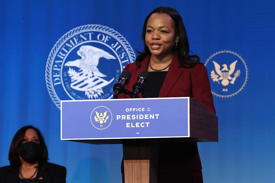 "Kristen Clarke, president of the Lawyers' Committee for Civil Rights Under Law, says the Biden administration needs to undo ""extensive damage"" in enforcing civil rights laws."