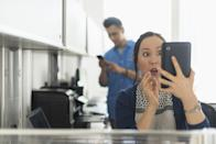 <p>Everyone has done something wrong and then blamed it on an accident. Maybe try a different excuse next time you spend 20 minutes guessing your significant others' passcode, scrolling through their photo library, and sending yourself every suspicious photo they've ever taken.<br></p>