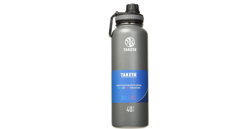 Takeya Originals Vacuum-Insulated Stainless-Steel Water Bottle (Photo: Amazon)