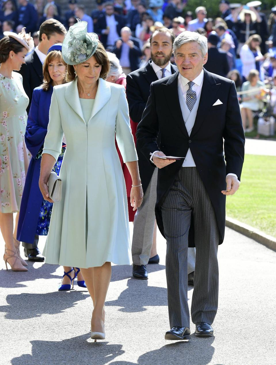 Kate's parents - Michael and Carole Middleton.