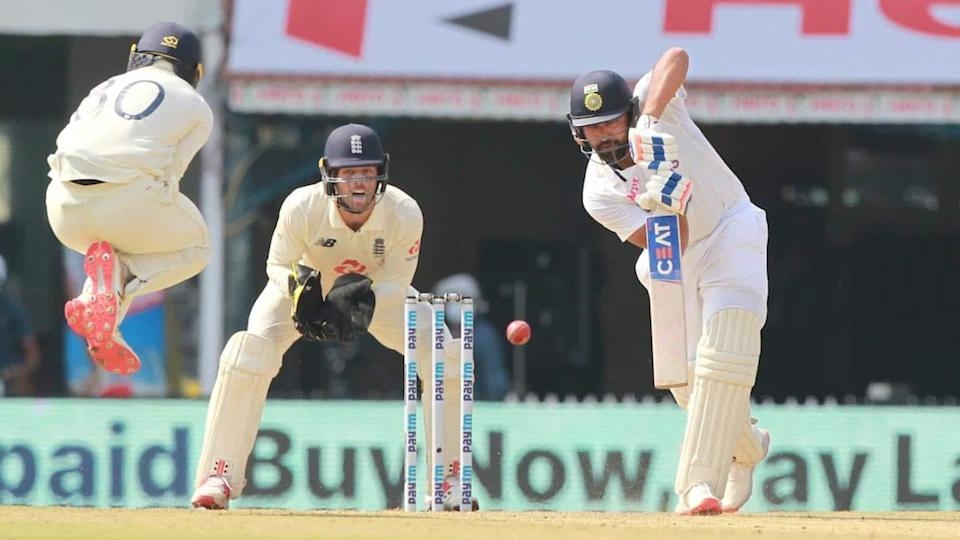 India vs England: Kohli out for a duck, Rohit shines