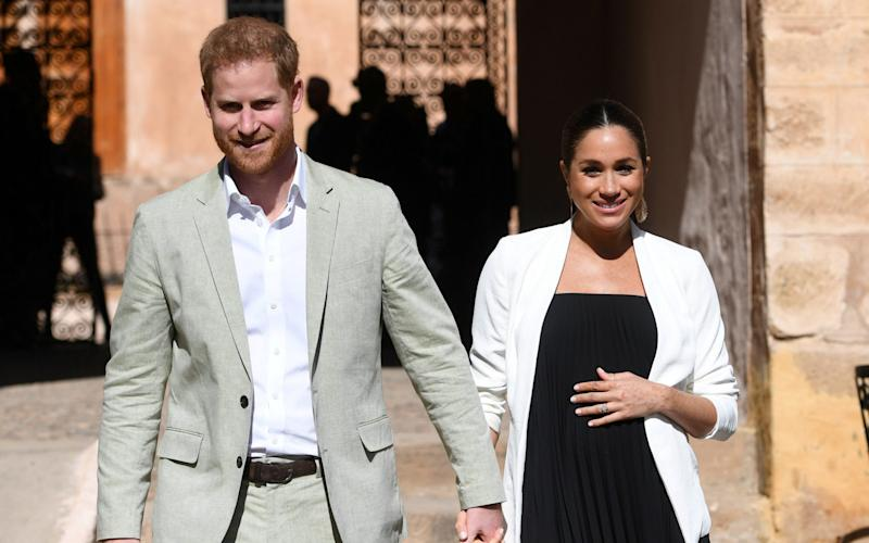 The Duke and Duchess of Sussex in Morocco - REUTERS