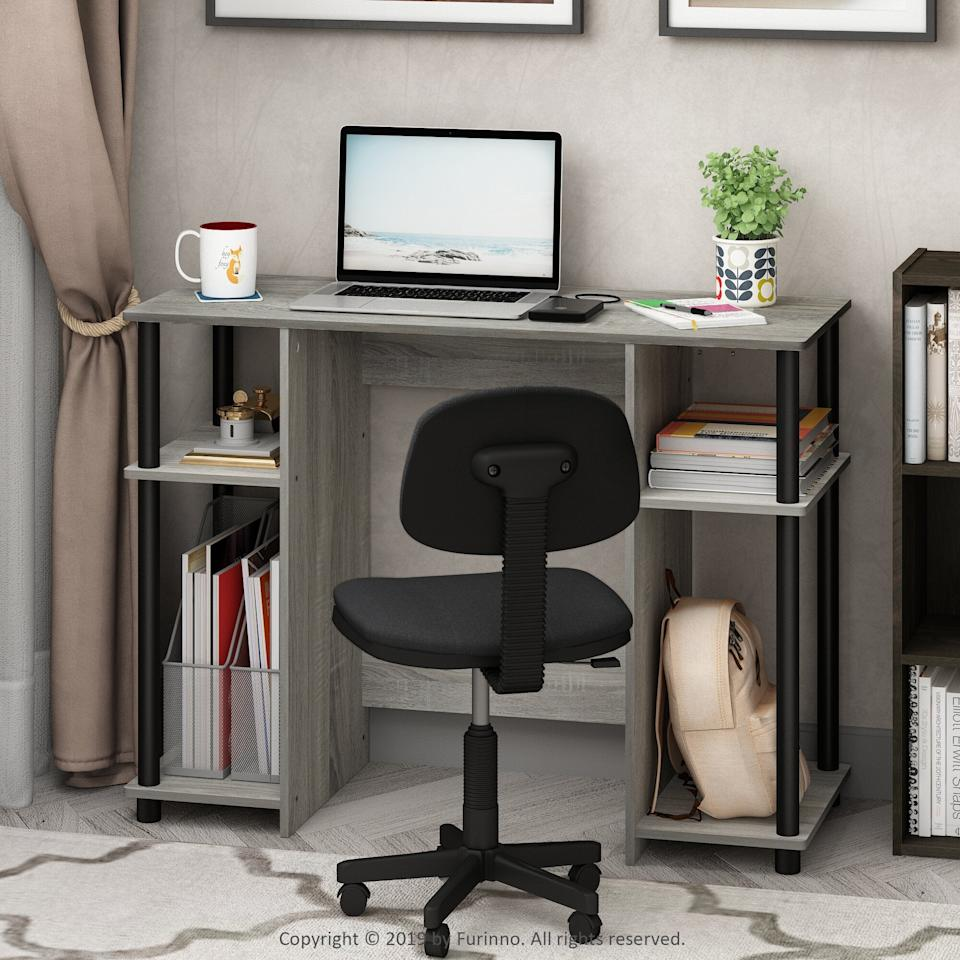 "<h3><a href=""https://www.wayfair.com/furniture/pdp/ebern-designs-lansing-writing-desk-w001104932.html?piid=1987410653"" rel=""nofollow noopener"" target=""_blank"" data-ylk=""slk:Ebern Designs Lansing Writing Desk"" class=""link rapid-noclick-resp"">Ebern Designs Lansing Writing Desk</a></h3><br><strong>When you'd really like to work anywhere that isn't the kitchen table:</strong> This stripped-down, streamlined desk style can fit in the most surprising of spaces, transforming an otherwise neglected spot in your household into that coveted work-from-home office area. <br><br><strong>Ebern Designs</strong> Lansing Writing Desk, $, available at <a href=""https://go.skimresources.com/?id=30283X879131&url=https%3A%2F%2Fwww.wayfair.com%2Ffurniture%2Fpdp%2Febern-designs-lansing-writing-desk-w001104932.html%3Fpiid%3D1987410653"" rel=""nofollow noopener"" target=""_blank"" data-ylk=""slk:Wayfair"" class=""link rapid-noclick-resp"">Wayfair</a>"