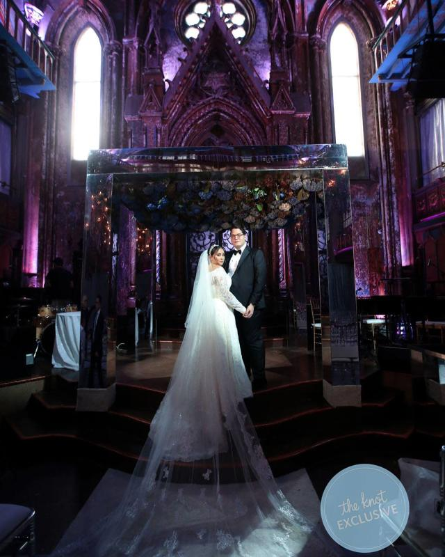Claudia Oshry and Ben Soffer's wedding. (Photo: Anthony Vazquez Photography)