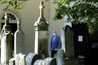 Biden often prays at St. Joseph on the Brandywine church in Wilmington, where members of his family are buried including son Beau Biden
