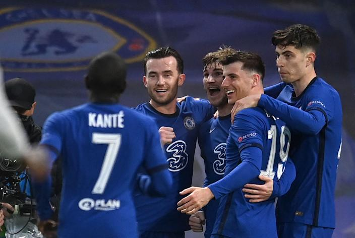 <p>Chelsea winning the Champions League could impact the top four race in the Premier League</p> (AFP via Getty Images)