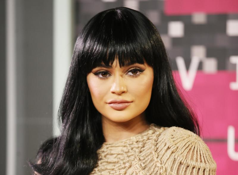 Kylie Jenner goes topless for her Instagram followers
