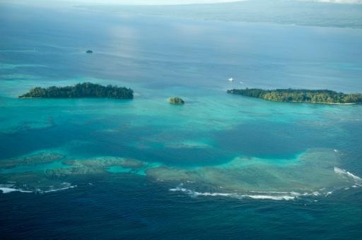 Sea-level rise claims five islands in Solomons: study