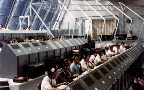 Primed and ready at the Launch Control Center, Nasa Kennedy Space Center - Credit: GETTY IMAGES