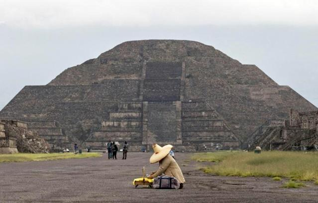 """The """"City of Gods"""" is one of Mexico's top tourist attractions"""