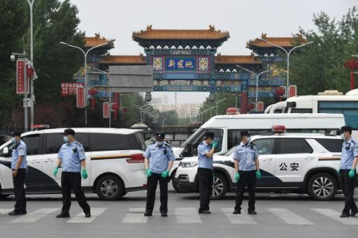 A new cluster of cases in Beijing has been linked to the Xinfadi wholesale market