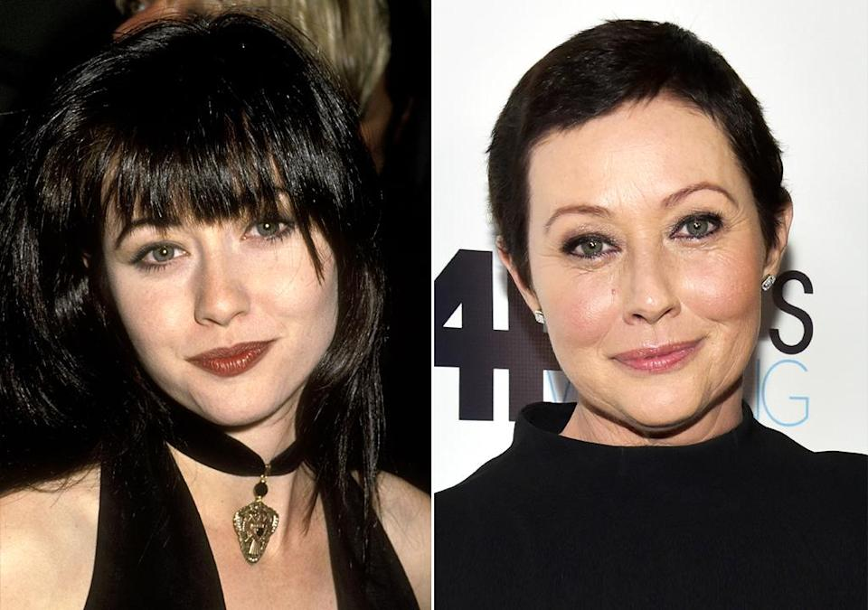 "<p>Open about her journey with breast cancer since her diagnosis in March of 2015, Doherty, 46, announced she was in remission in April. ""Moments. They happen. Today was and is a moment,"" she said in an Instagram post celebrating the news. Aside from 90210, Doherty has landed iconic roles on Charmed and in 1988's Heathers — which she is set to star in a remake of, currently in development. Twice divorced, she's been married to producer Kurt Iswarienko since 2011.</p>"