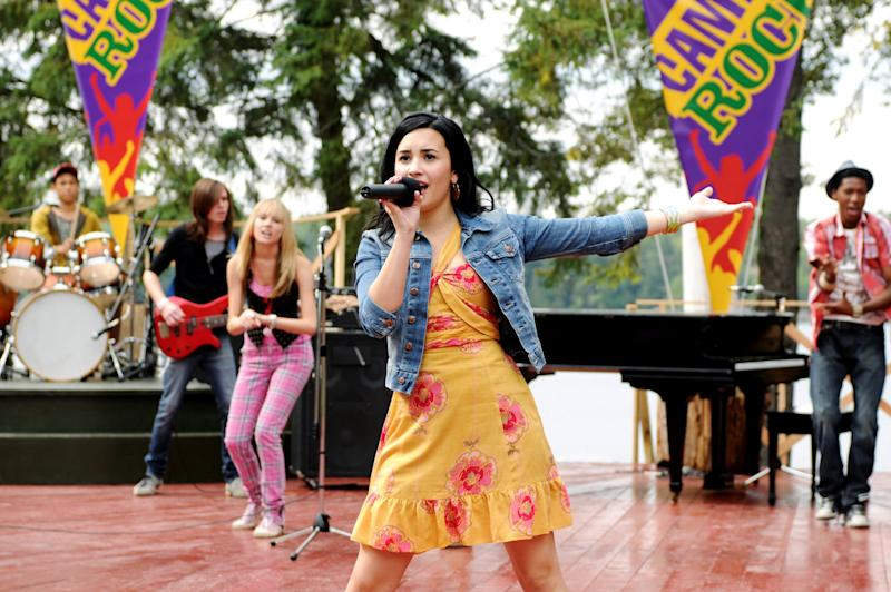 CAMP ROCK: THE FINAL JAM (aka CAMP ROCK 2), Demi Lovato, aired September 3, 2010, photo: John Medland / Disney Channel / courtesy Everett Collection