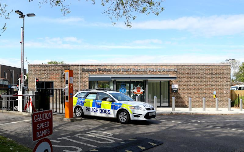 Sussex Police and East Sussex Fire and Rescue Headquarters in Lewes, East Sussex, where the police misconduct hearing into the death of teenager Shana Grice is being held.