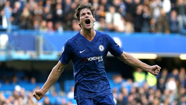 Marcos Alonso Chelsea Newcastle 191019