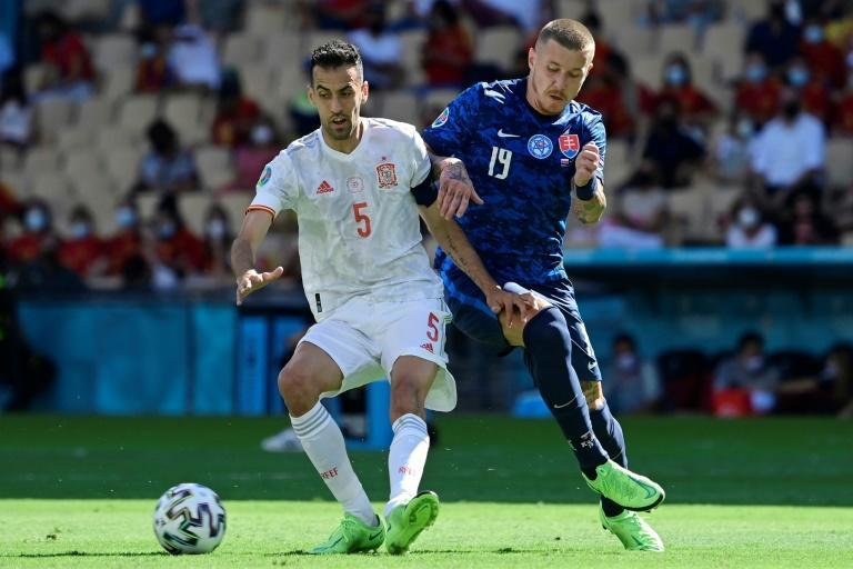 The return of Sergio Busquets in midfield against Slovakia was a welcome sight for Spain