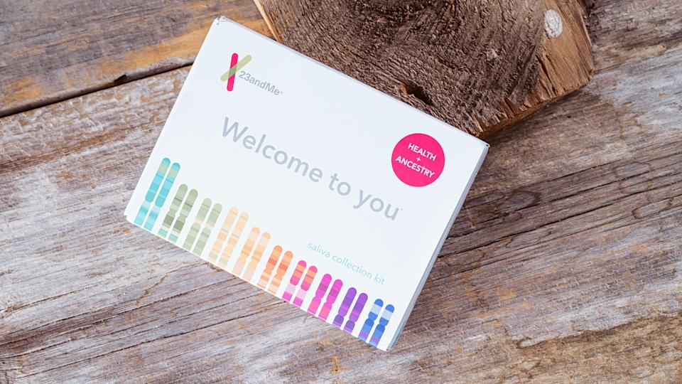 23andMe provides interesting info about your family history through simple strands of DNA.