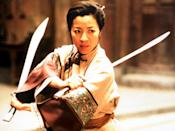 "<p>Ang Lee's stunning <em>wuxia</em> masterpiece won him an Oscar in 2001 for best foreign-language film. And so much of the action focuses on its female warriors, played by Michelle Yeoh and Zhang Ziyi, who pull off some of the most intensely choreographed fight scenes in the whole movie</p> <p><a href=""https://www.netflix.com/title/60002907"" rel=""nofollow noopener"" target=""_blank"" data-ylk=""slk:Available to stream on Netflix."" class=""link rapid-noclick-resp""><em>Available to stream on Netflix.</em></a></p>"