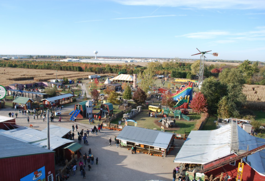 """<p><a href=""""https://ourpumpkinfarm.com/"""" target=""""_blank"""">Siegel Cottonwood Farm</a> is a fourth-generation farm in Lockport, Illinois, that's been in business since 1909. Catch a hayride out to the pumpkin field to take your pick right off the vine, or stay behind to enjoy the rides, farm animal petting zoo, and sweet treats.</p><p><a class=""""body-btn-link"""" href=""""https://go.redirectingat.com?id=74968X1596630&url=https%3A%2F%2Fwww.tripadvisor.com%2FTourism-g60860-Lockport_Illinois-Vacations.html&sref=https%3A%2F%2Fwww.countryliving.com%2Flife%2Ftravel%2Fg21273436%2Fpumpkin-farms-near-me%2F"""" target=""""_blank"""">PLAN YOUR TRIP</a></p>"""