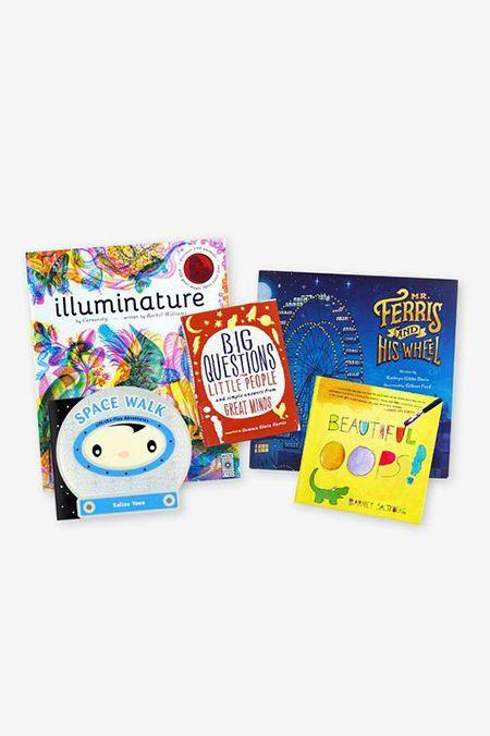 """<p>Keep your bookworm's library well stocked. Every month, Literati sends <strong>five brand new books every month.</strong> Keep them for a week, then buy your kid's favorite. The company promises their prices are less than competitors. </p><p><em>$10 per month<br>Ages: 0–9</em></p><p><a class=""""link rapid-noclick-resp"""" href=""""https://literatibooks.com/join/"""" rel=""""nofollow noopener"""" target=""""_blank"""" data-ylk=""""slk:BUY NOW"""">BUY NOW</a></p>"""